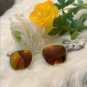 Accessories - NEW! Orange, Pink And Clear Sunglasses
